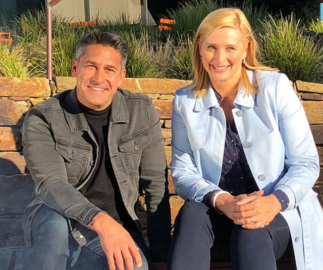 Rumours were rife of a feud between Joh and new judge Jamie Durie (left).