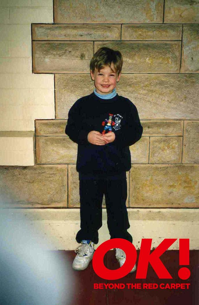 We recognise that face! How cute was Matt as a kid?!
