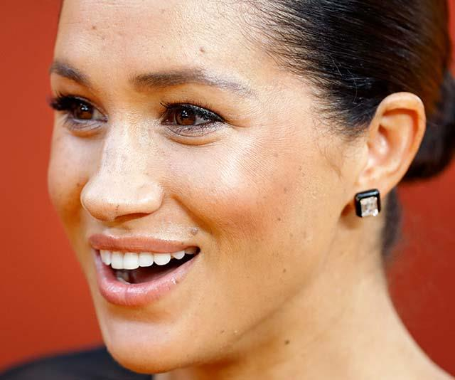 Oh, and shall we just take a moment to revel in these glorious Lorraine Schwartz diamond and onyx earrings? Bowing down.