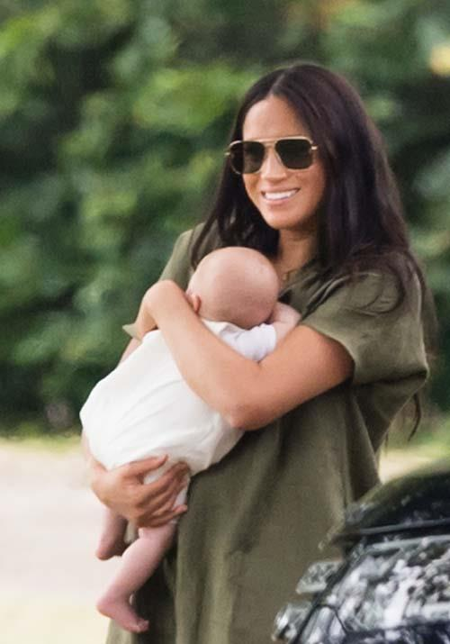 As for those sunnies? They're by Meghan's favourite Stella McCartney. Can we get a pair of our own already, please?!
