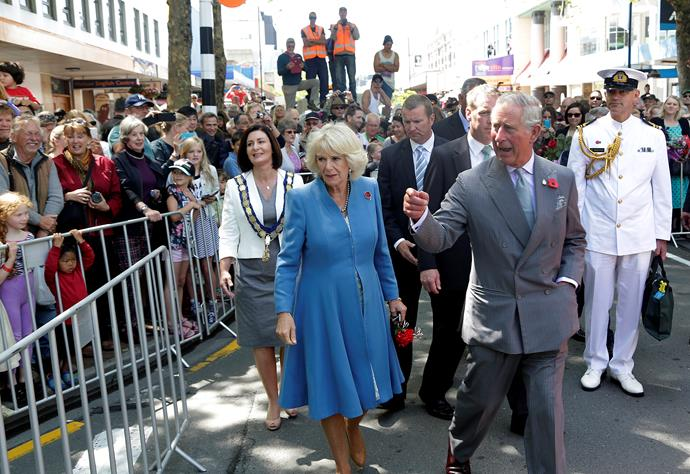 Charles and Camilla drew crowds in the thousands while visiting Nelson, New Zealand in November 2015.