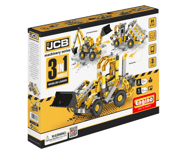 "**Engino JCB Machinery Series from RRP from $19.95:** Children can build iconic JCB machines such as the 3CX Backhoe Loader, the Telescopic Handler and the Skid Steer Loader. The larger sets also include a motor which bring the JCB models to life. Engino toys are available from [Australian Geographic](https://shop.australiangeographic.com.au/catalogsearch/result/?q=engino|target=""_blank""