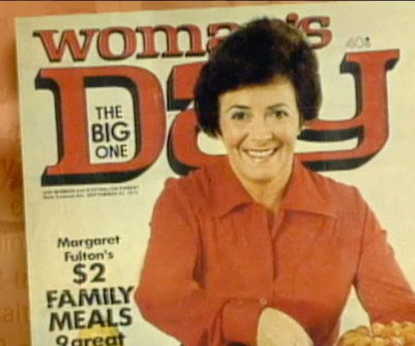 Margaret on the cover of *Woman's Day*