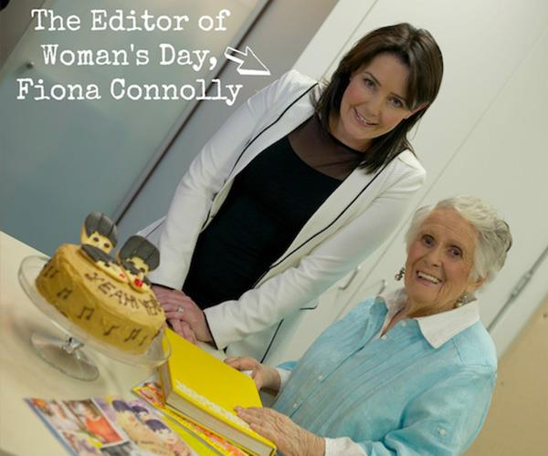 With *Woman's Day* Editor-In-Chief Fiona Connolly.