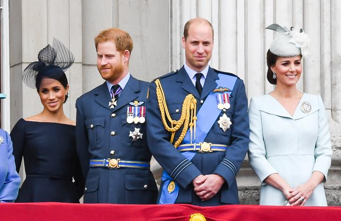 The two royals have grown closer over the past 12 months.