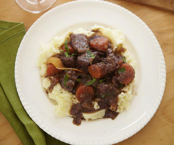 Margaret's beef casserole is the ultimate classic.