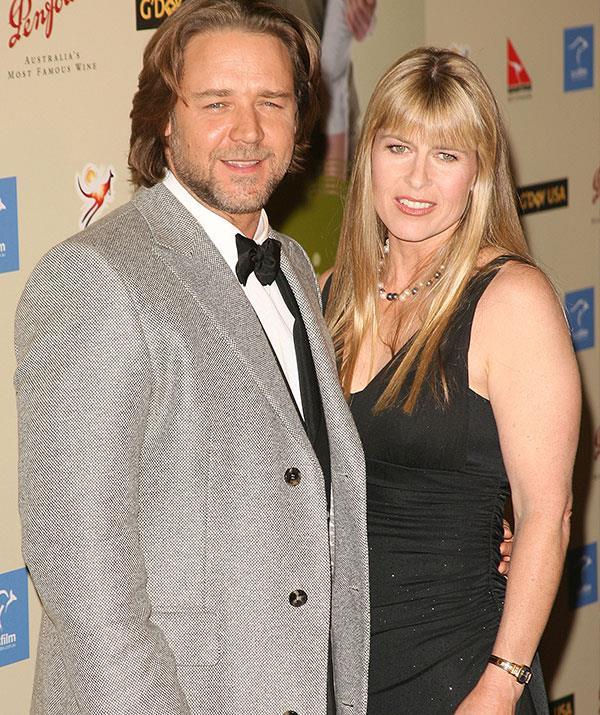 Rumour has it actor – and Steve's old mate – Russell Crowe (pictured left with Terri Irwin) has offered his  rural property Nana Glen, as wedding venue.