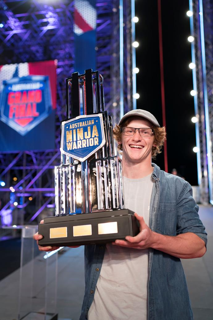Charlie Robbins is Australia's first Ninja Warrior champion.