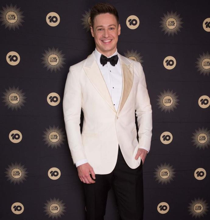 Matt at the 2019 TV WEEK Logie Awards.