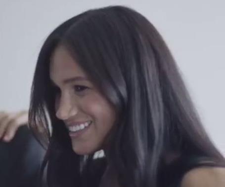 Meghan looked thrilled to be working on this exciting project.