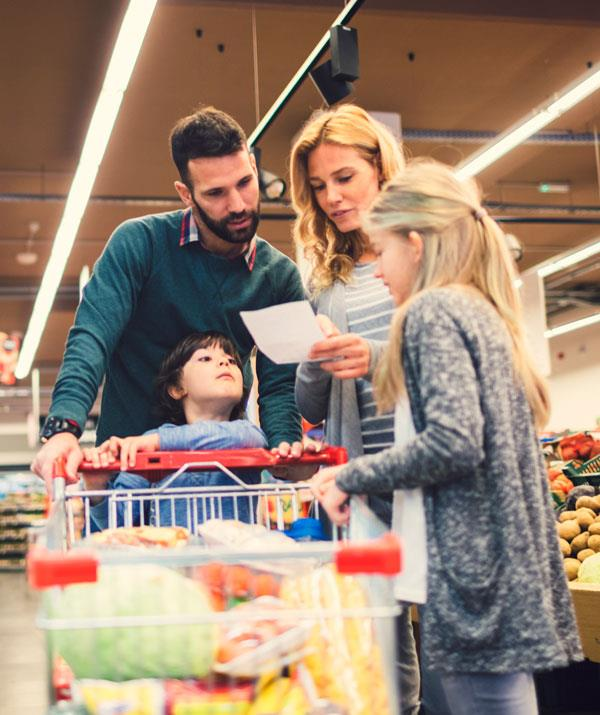 Hit the supermarket knowing what you need to buy.