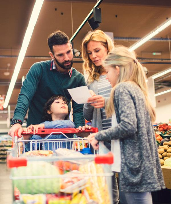 Stock your supermarket trolley with a range of healthy choices.