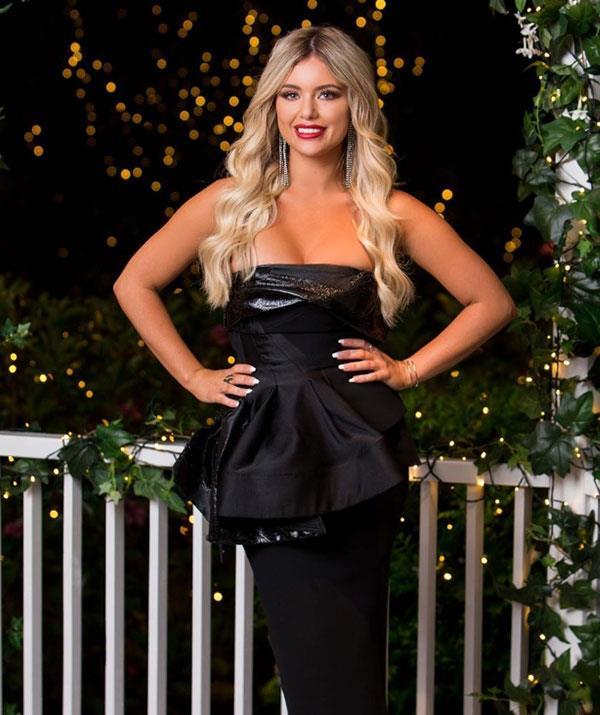 Monique is one of the women vying for Matt Agnew's heart on *The Bachelor.*