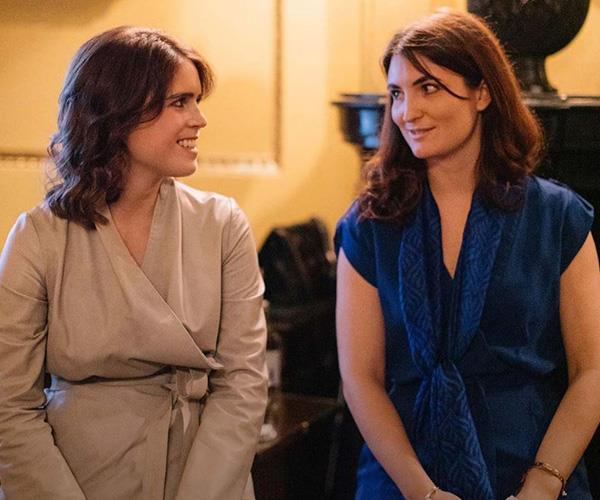 Eugenie and Julia have been friends since school and have since started their own charity.