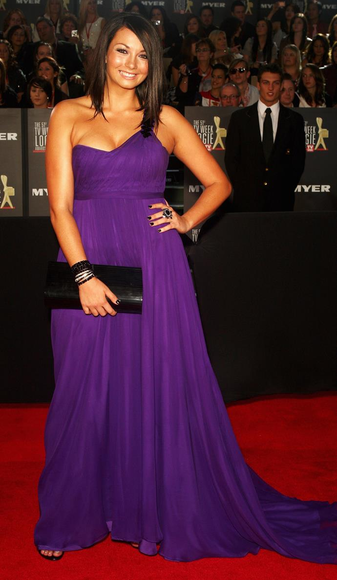 At the 2009 Logie Awards.