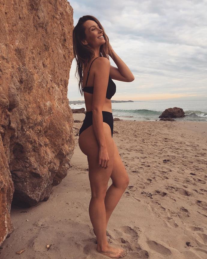 A gorgeous bikini snap from 2017.
