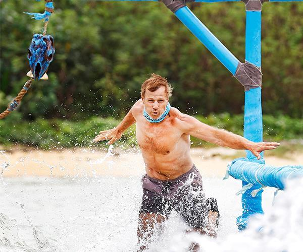Losing the challenges was the toughest thing on ET's *Survivor* journey.
