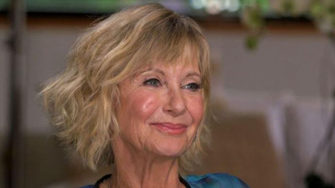 Olivia Newton John talks candidly about her battle with cancer on 60 Minutes.