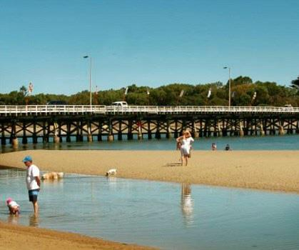 Barwon Heads in Victoria, where the first seasons of SeaChange was filmed.