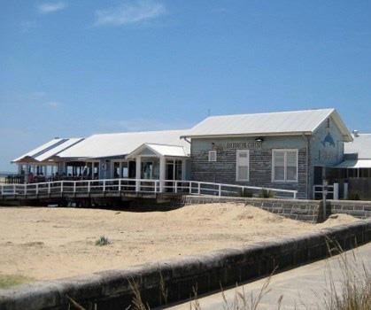 Barwon Heads received a huge economic boost thanks to *SeaChange*.