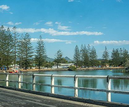 Brunswick Heads in northern NSW.