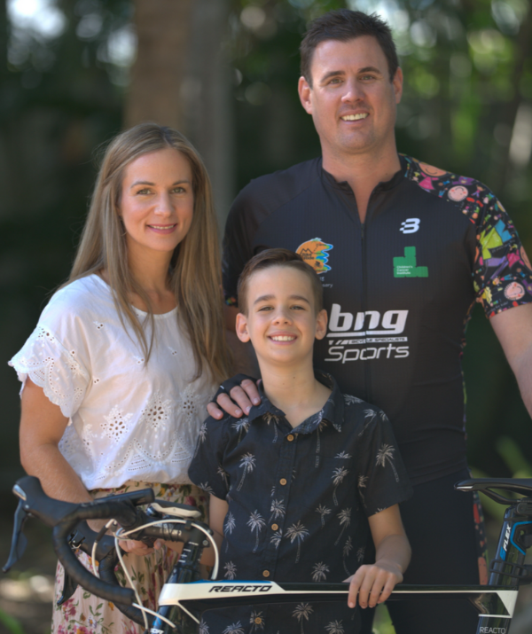 Oscar is now in remission, and Marc is determined to take on the Townsville to Cairns 350km bike ride in support of the Children's Cancer Institute for many years to come.