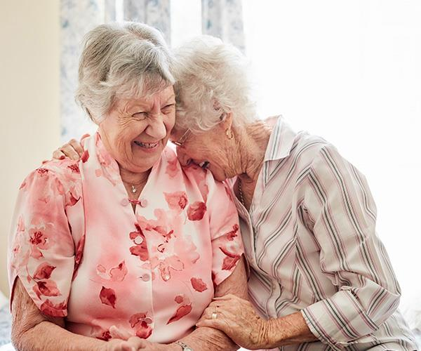 Nursing homes with religious affiliations have hindered support for elderly people who wish to maintain or embark on same-sex relationships.