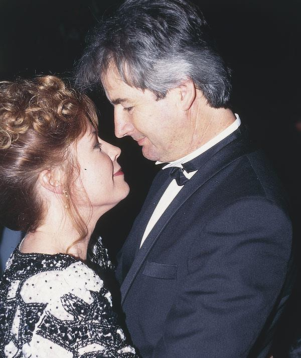 Noni and John Jarratt married in 1987 and were together for a decade.
