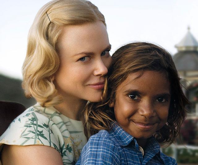 Brandon with *Australia* castmate Nicole Kidman.