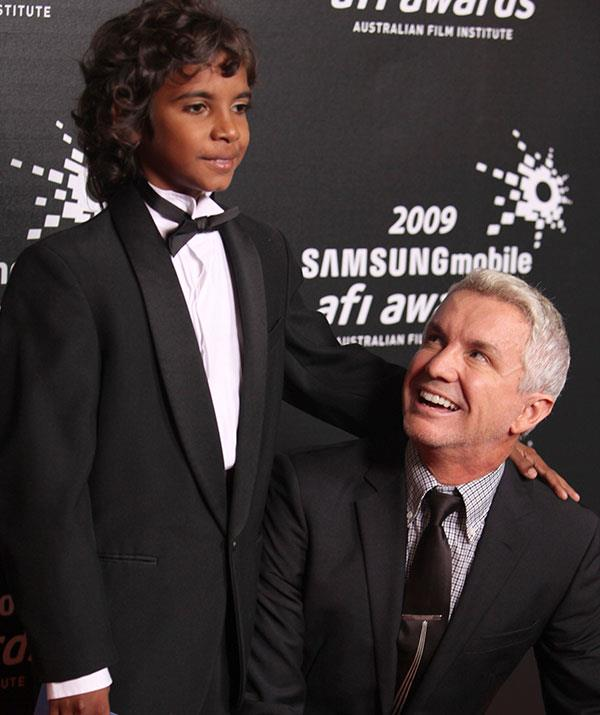 Director Baz Luhrmann with Brandon at the 2009 AFI Awards in Melbourne.