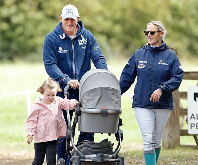 For the humble couple, bliss is stroll in the park with the kids.
