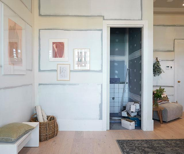 """The """"Australian vibe"""" of the room was described as not quite right for the heritage home."""