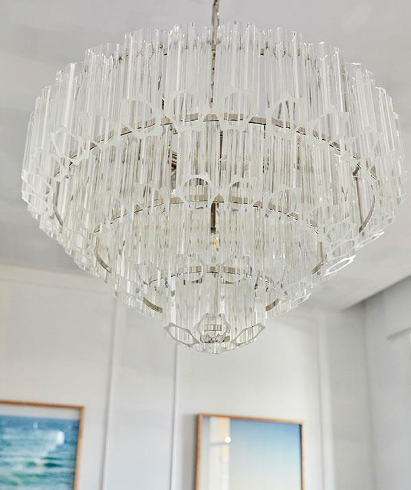Mitch and Mark's trademark chandelier made an appearance.