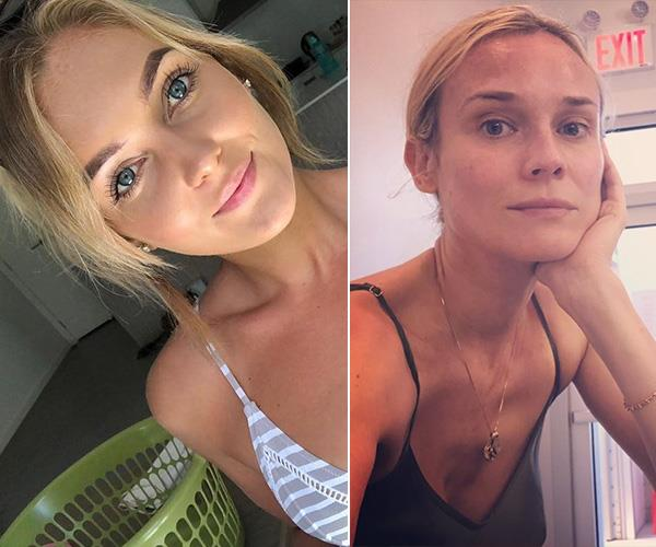 She may have been compared to Monique, but we think Nichole looks more like German beauty Diane Kruger.
