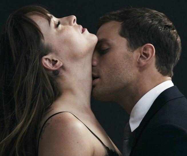 The stars of the smoking hot film *50 Shades of Grey*.