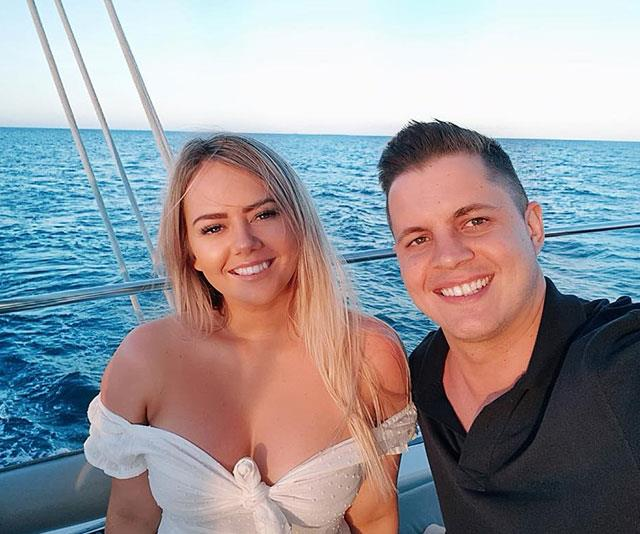 Johnny has credited his girlfriend Tahnee Simms (left) as being his rock through the ordeal.