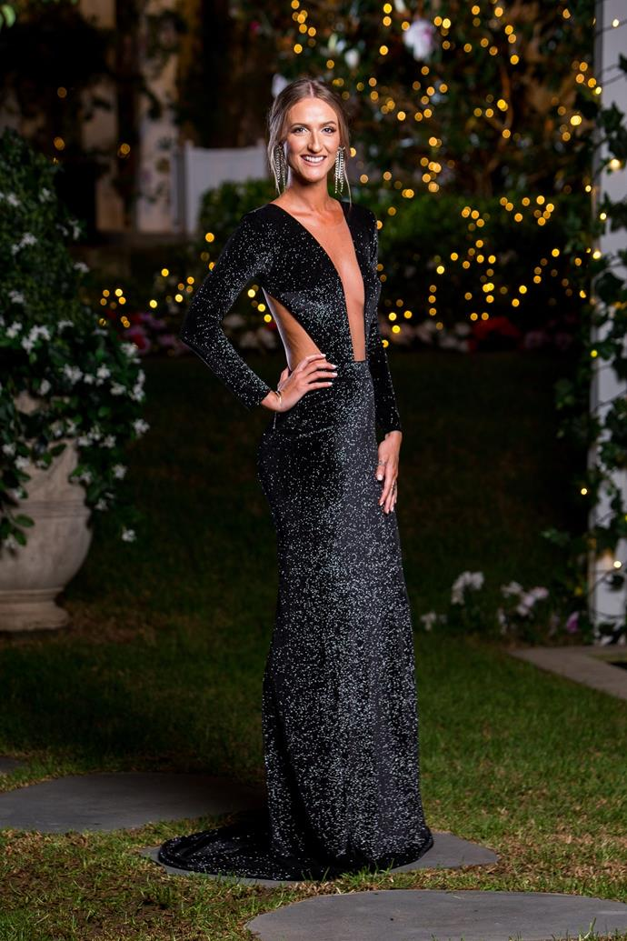 "**Episode 4** - ***[Isabelle Davies](https://www.nowtolove.com.au/reality-tv/the-bachelor-australia/bachelor-2019-secret-ceremony-rose-ceremony-57540|target=""_blank"")*** had her eyes closed when she played Sleeping Beauty during her only time with Matt and subsequently wasn't able to form any sort of relationship. She left the mansion without a rose."