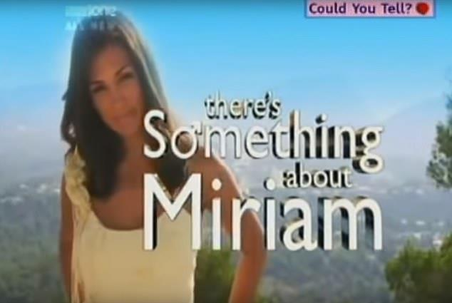 Miriam also appeared on contraversial TV show *There's Something About Miriam*.