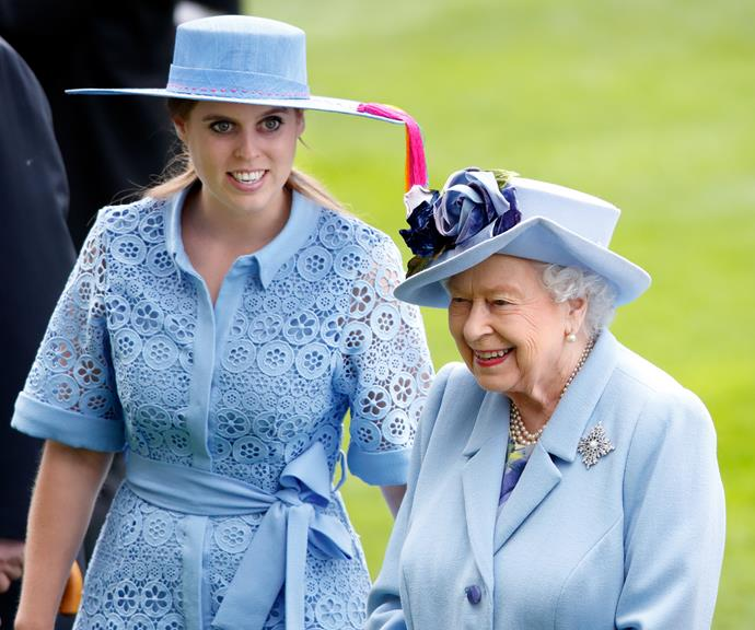Beatrice and The Queen are reportedly very close.