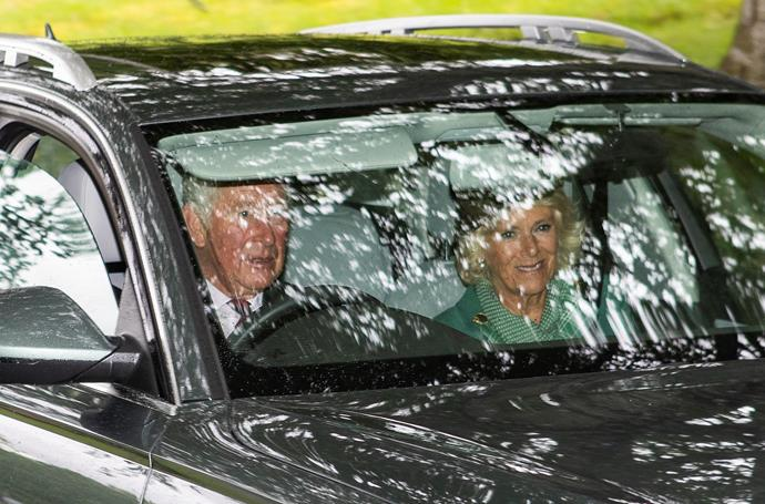 And Charles and Camilla were not far behind!