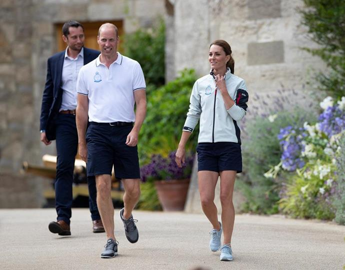 Say what now?! Kate Middleton has worn shorts and the internet is shook.