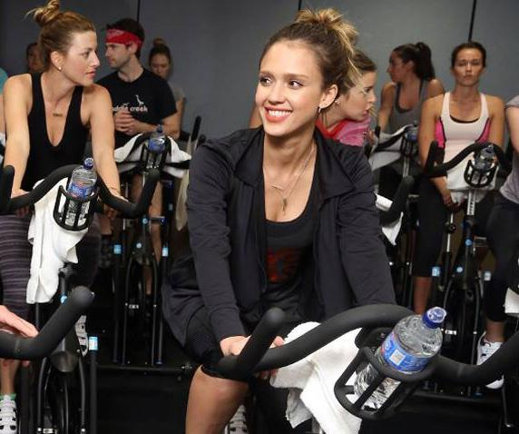 Celebrities like Jessica Alba are fans of spin.