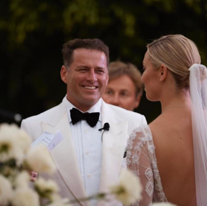 Karl and Jasmine tied the knot in December 2018.