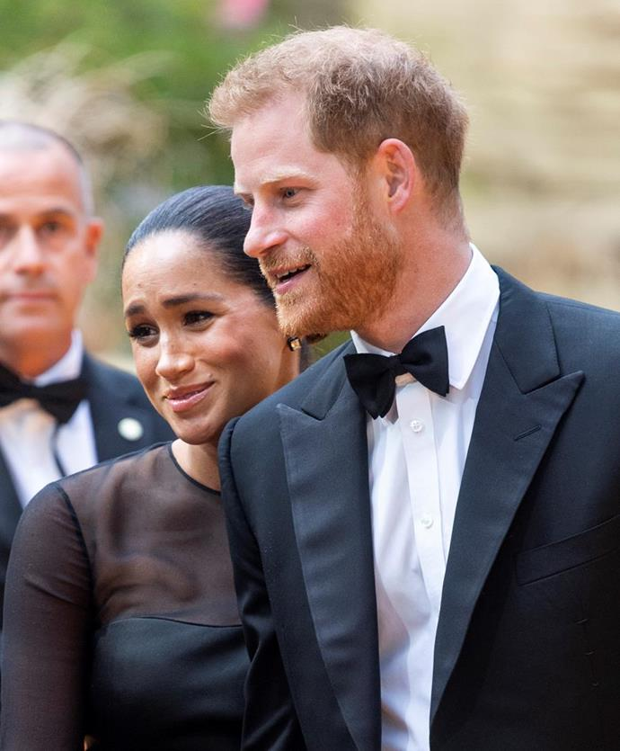 Duchess Meghan Markle and Prince Harry.