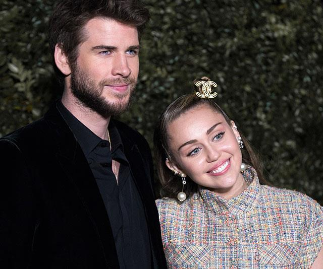 Liam has delivered an unexpected statement which includes a message for his wife Miley.