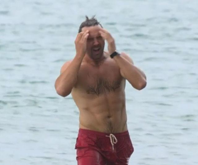 Darren's character's Findlay's opening scene in the SeaChange revival series.