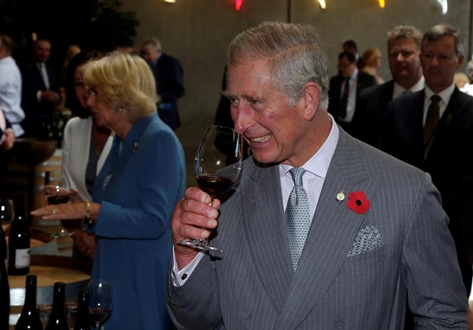 Prince Charles and Camilla visited Mahana Winery in the Nelson and Tasman region of New Zealand during their 2015 visit.