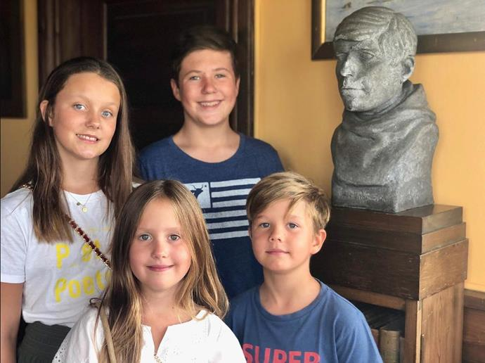 Prince Frederik and Princess Mary's four children are growing up so fast!
