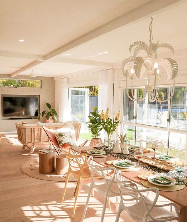 The couple has put the stunning Broadbeach Waters home on the market.