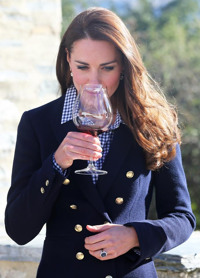 Kate Middleton has been treated to wine from New Zealand's winery-clad plains herself!